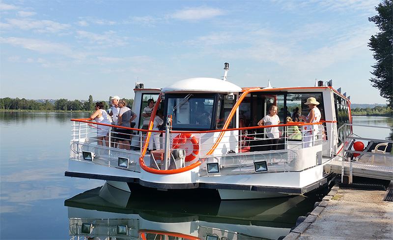 Chantier Naval Franco Suisse Hyperdrobus Canal de Jonage