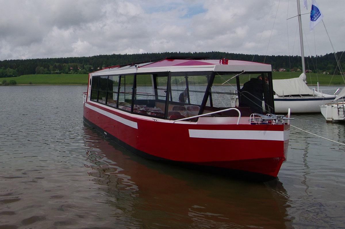 bateau electrique