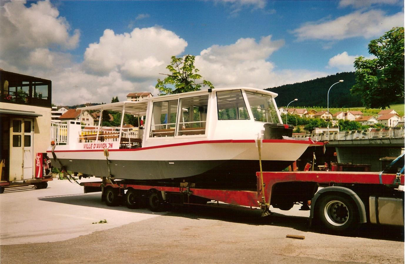 Chantier Naval Franco Suisse Hydrobus Avignon