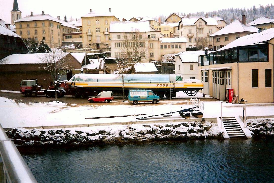 Chantier Naval Franco Suisse Hydrobus Batorama