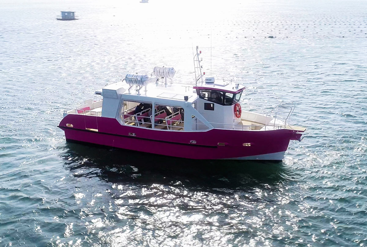 ODC Marine HULL 56 – 12M 48 PAX HYBRIDE - LE PASS'PARTOU