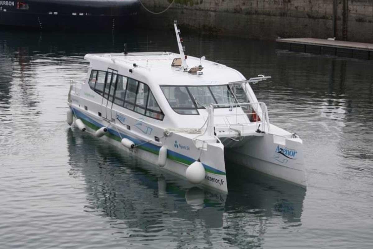 ODC Marine HULL 25 – CATA 15M 54 PAX ELECTRIQUE – SCUBE