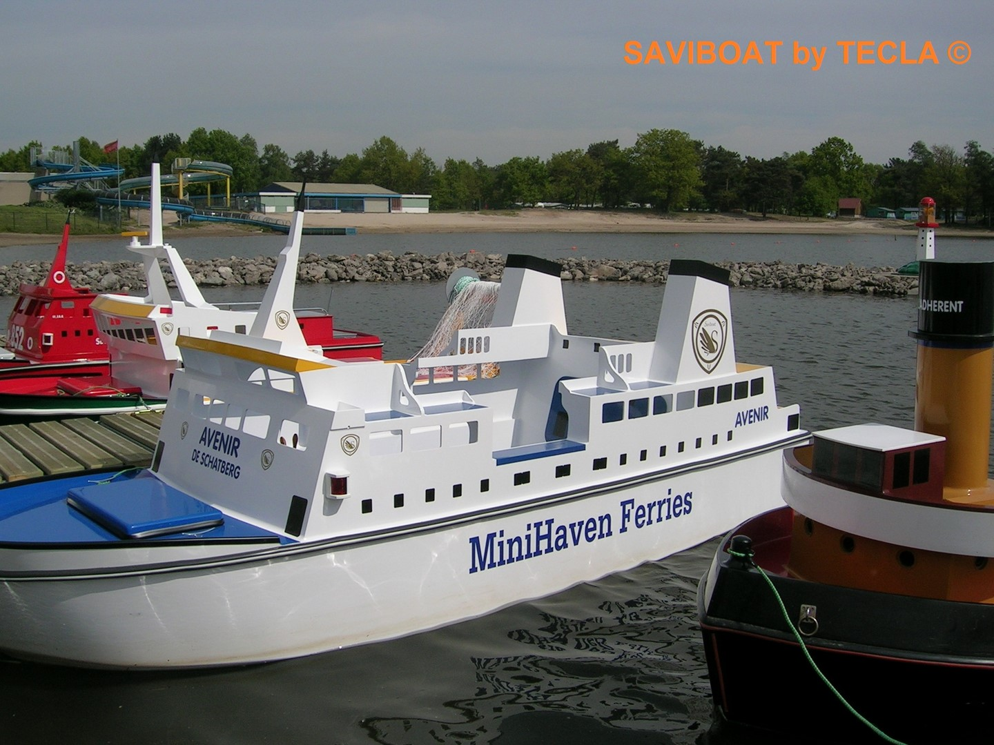 Saviboat Port Miniature Ferry