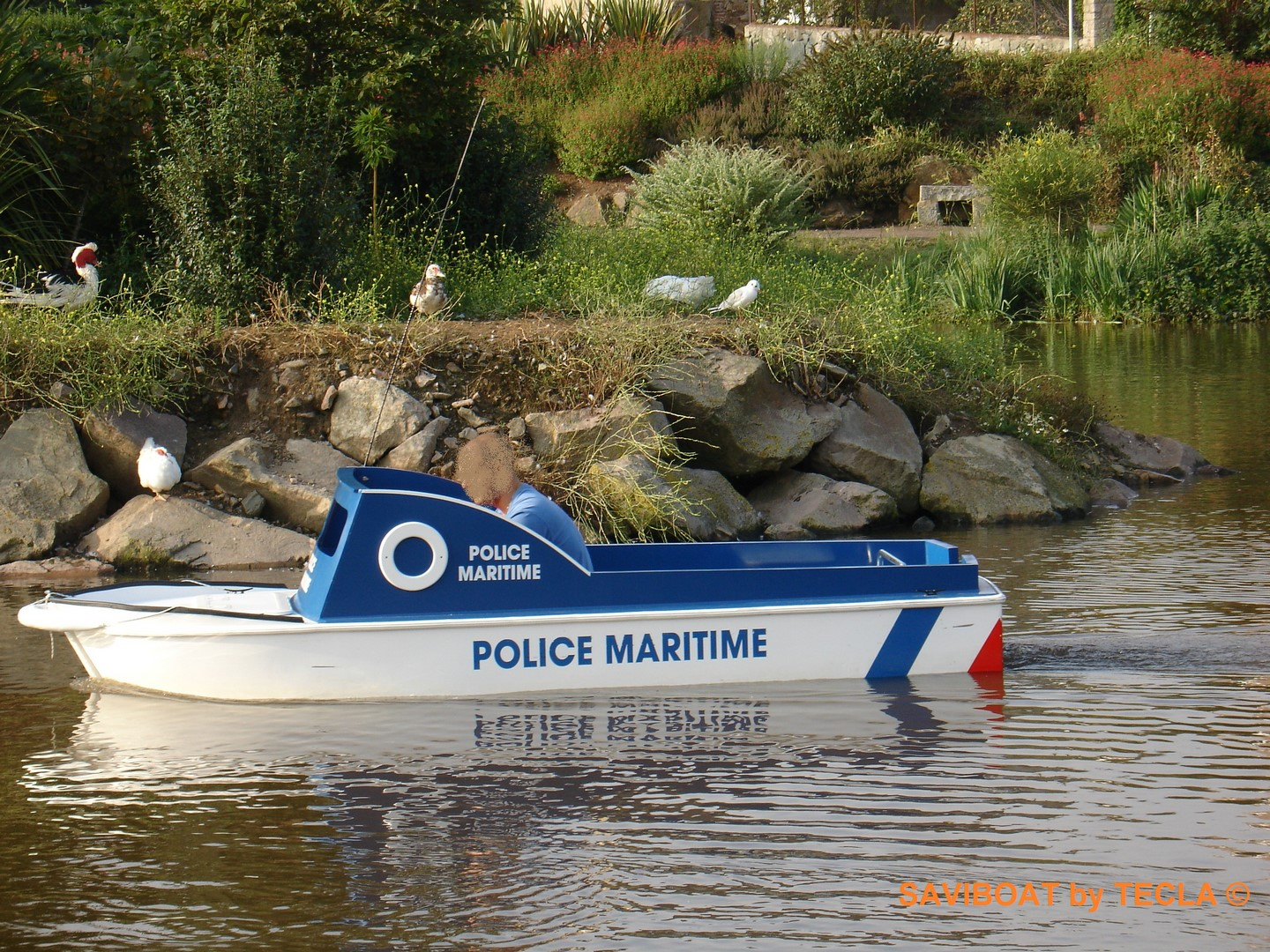 Saviboat Port Miniature Police