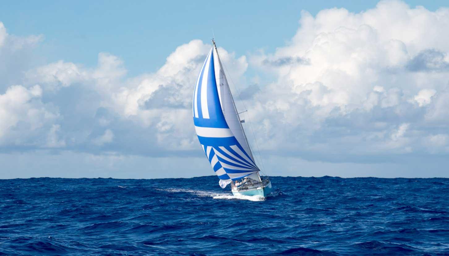 Un bateau sans énergie fait le tour du monde
