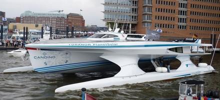 Un bateau solaire au service de la préhistoire
