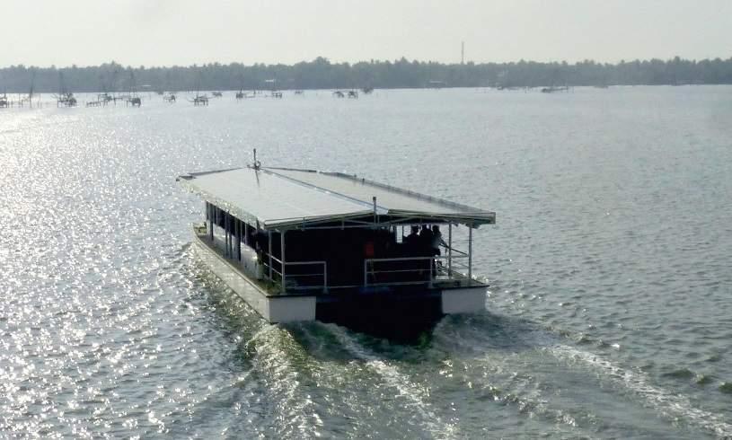 NavAlt lance son premier ferry électro-solaire en Inde