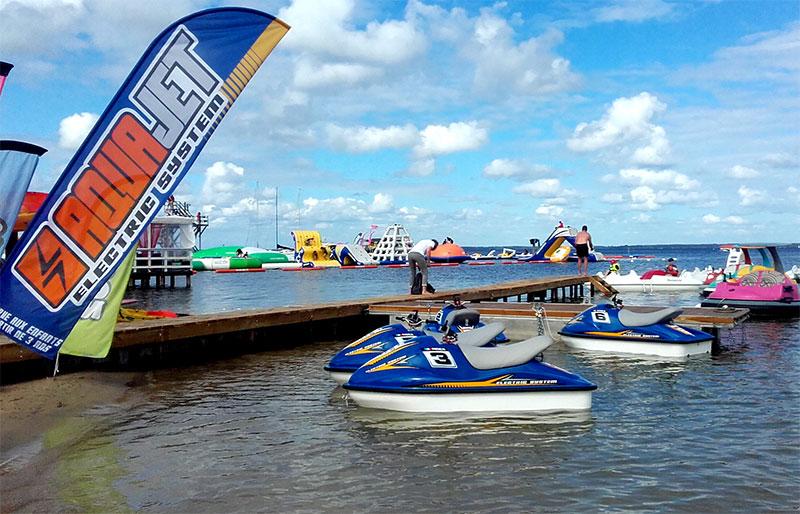 Alinox investit le marché du jet-ski électrique pour enfant avec l'Aquajet