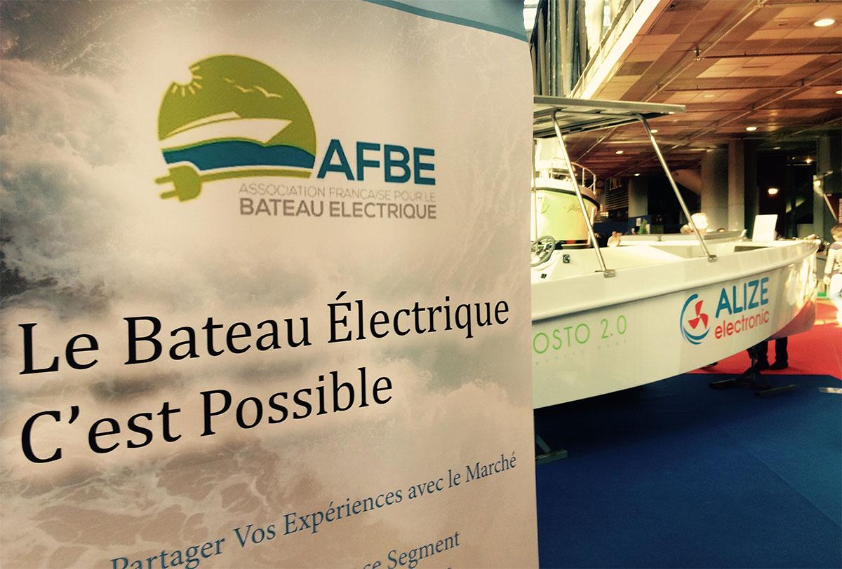 Plein succès pour l'AFBE et ses membres au Salon Nautic 2016