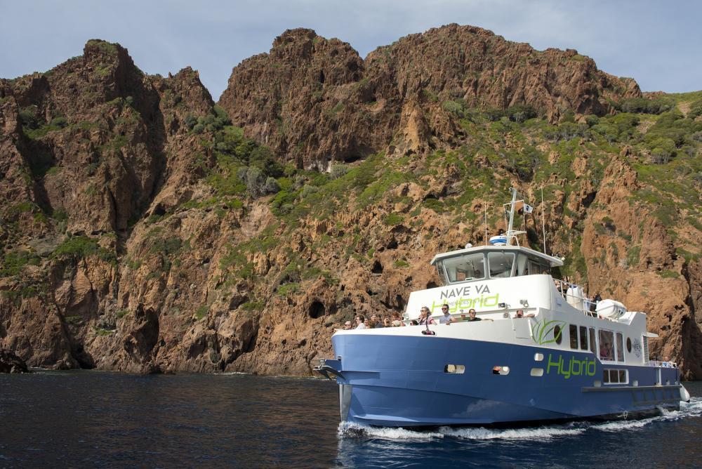 Corse - Leroy Somer équipe le bateau hybride de Nave Va