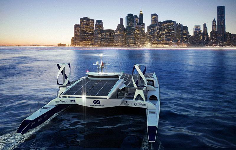 Energy Observer : un bateau à hydrogène va faire le tour du monde