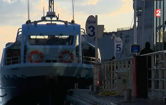 Les bateaux hybrides du réseau Mistral à l'honneur sur France 2