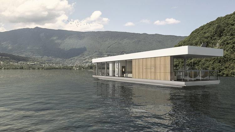 Boathome : la maison flottante écologique et nomade
