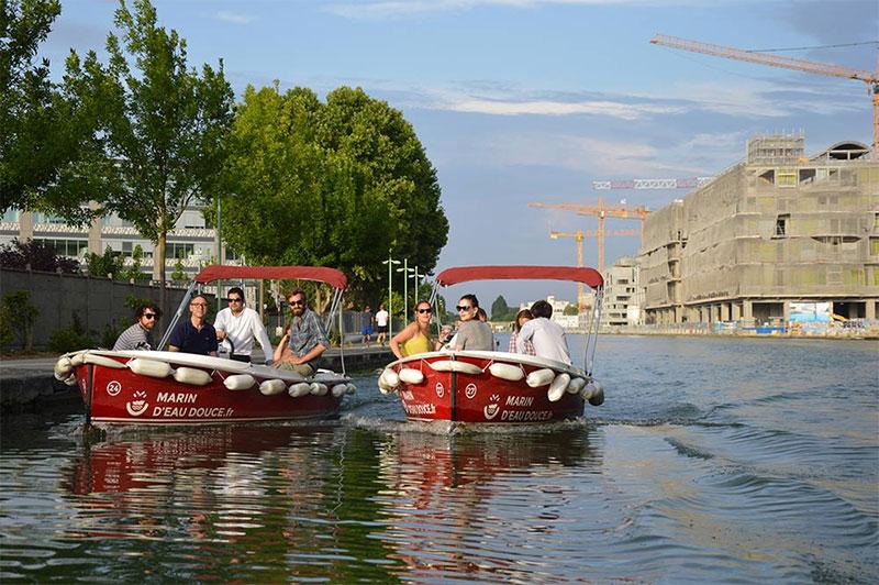 Des bateaux électriques sans permis à la location pour Meaux