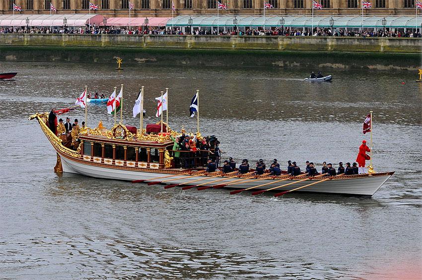 Torqeedo va électrifier la barge royale de la Reine d'Angleterre