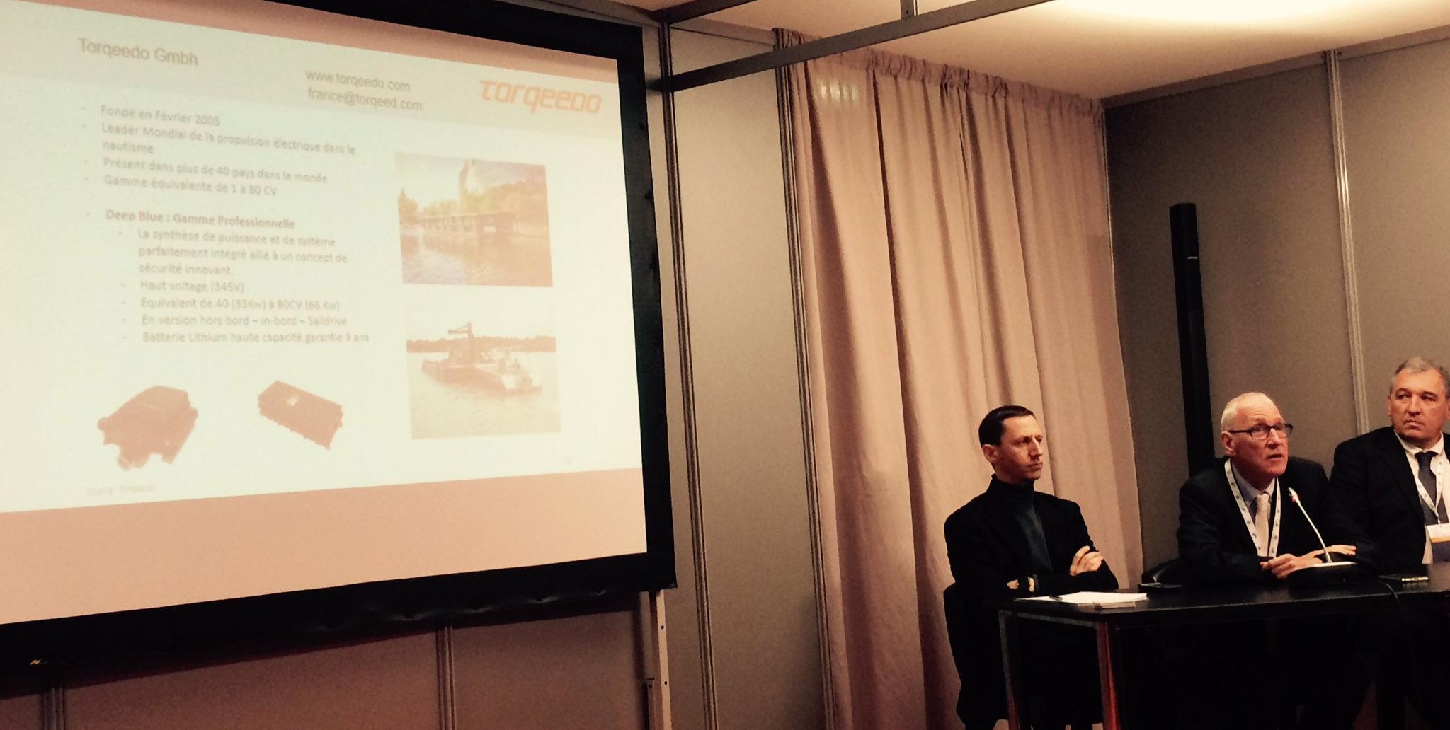 Salon EuroMaritime : le bateau électrique anime les débats