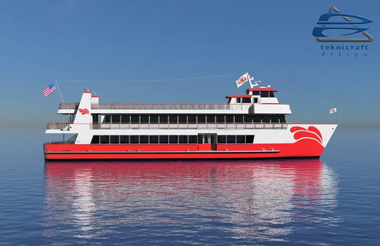 All American Marine va construire un bateau hybride pour la baie de San Francisco