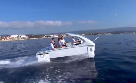 Sea Bubbles : les bateaux-taxis électriques testés à La Ciotat