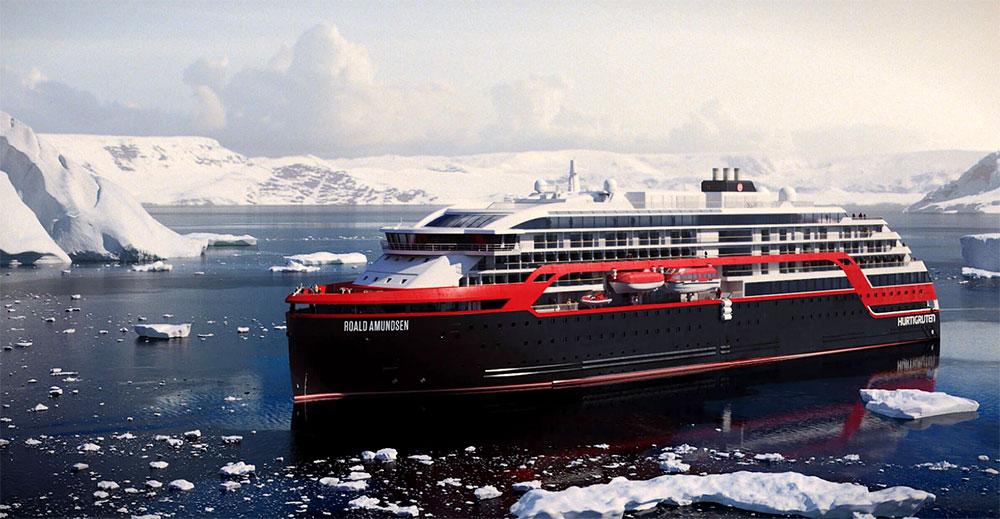 Des navires d'exploration hybrides pour Hurtigruten