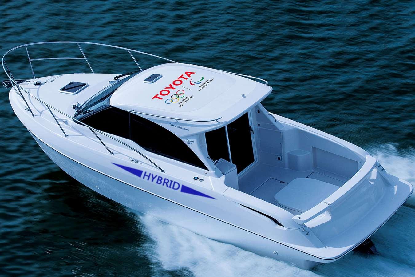 Toyota Ponam 28V : un bateau hybride en phase de test