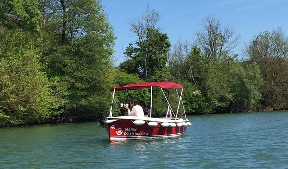 La location de bateaux électriques sans permis débute à Meaux
