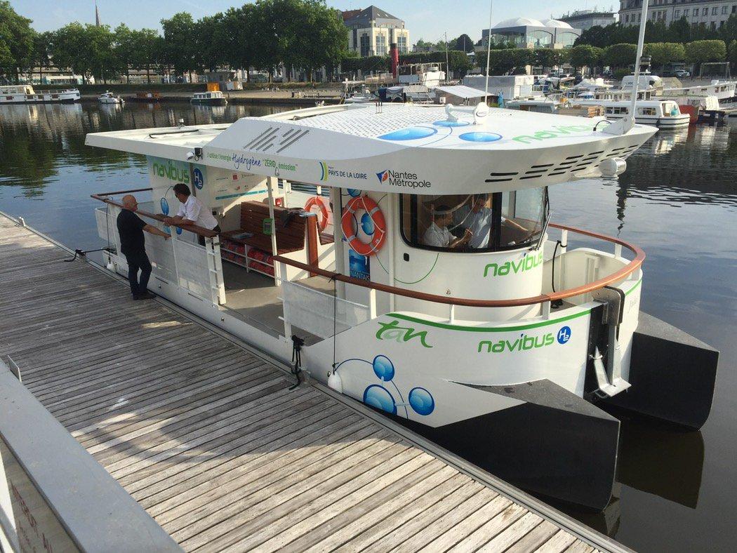 NavibusH2 : la navette fluviale à hydrogène expérimentée à Nantes
