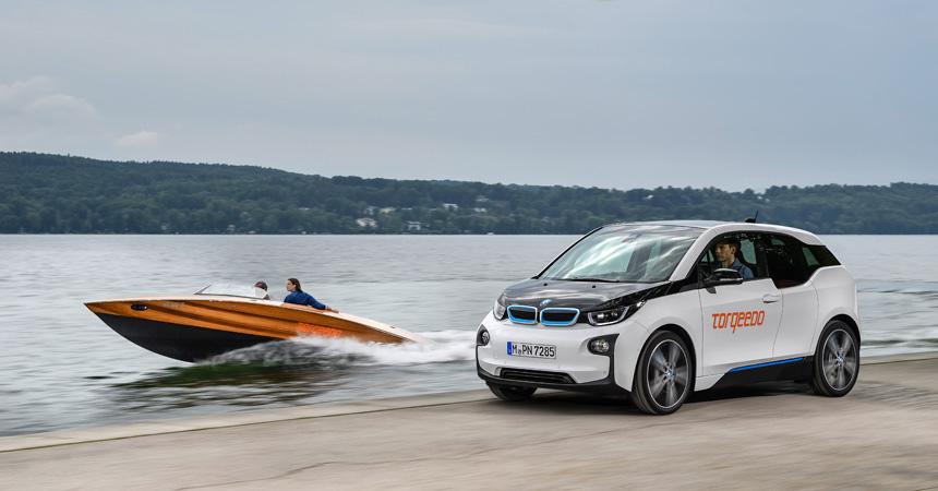 Des batteries de BMW i3 à bord des bateaux Torqeedo