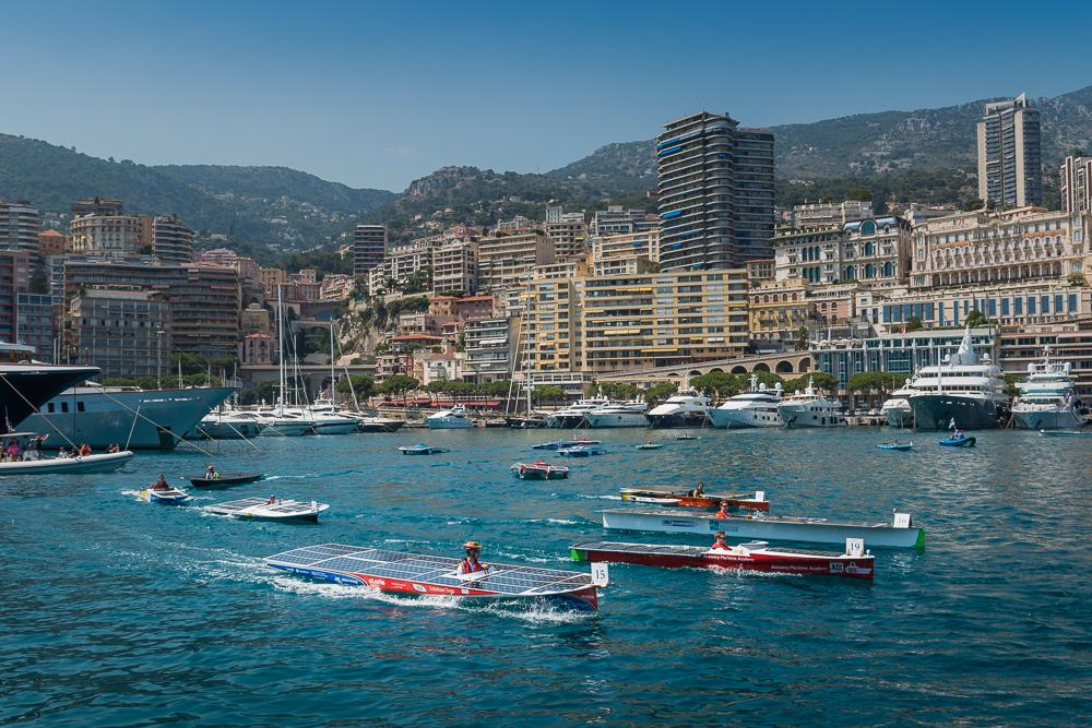 Plein succès pour l'édition 2017 du Monaco Solar & Electric Boat Challenge