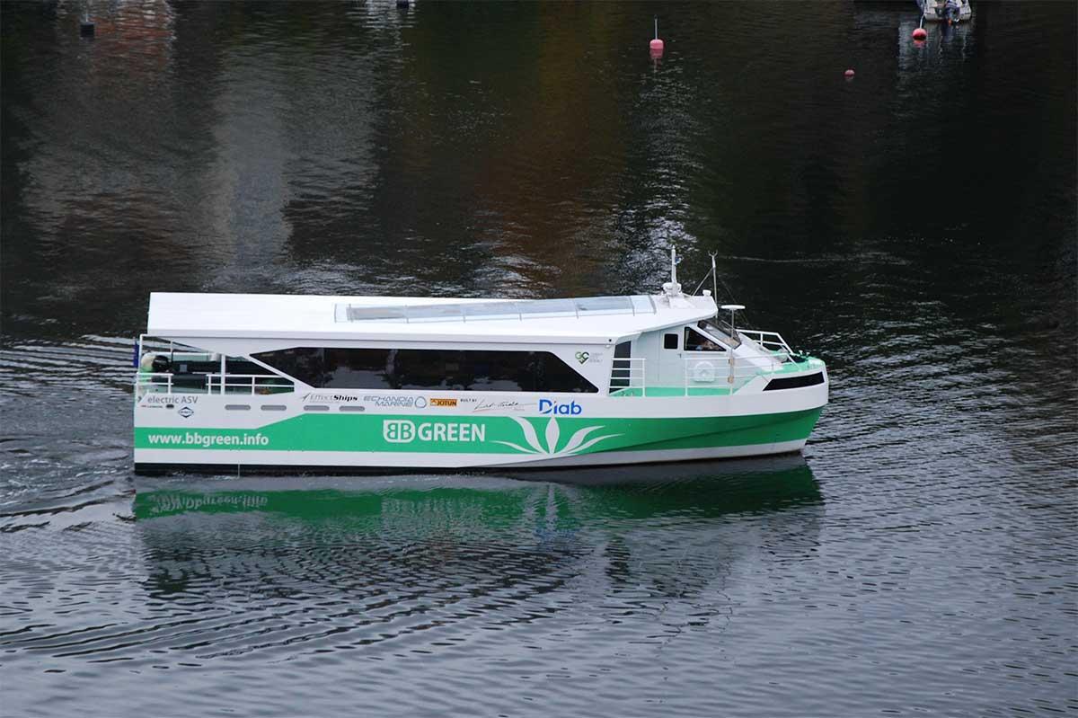 Le ferry électrique BB Green récompensé