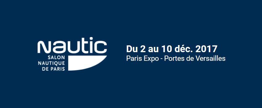 Un espace bateaux électriques porté par l'AFBE et la FIN au Salon Nautic de Paris 2017