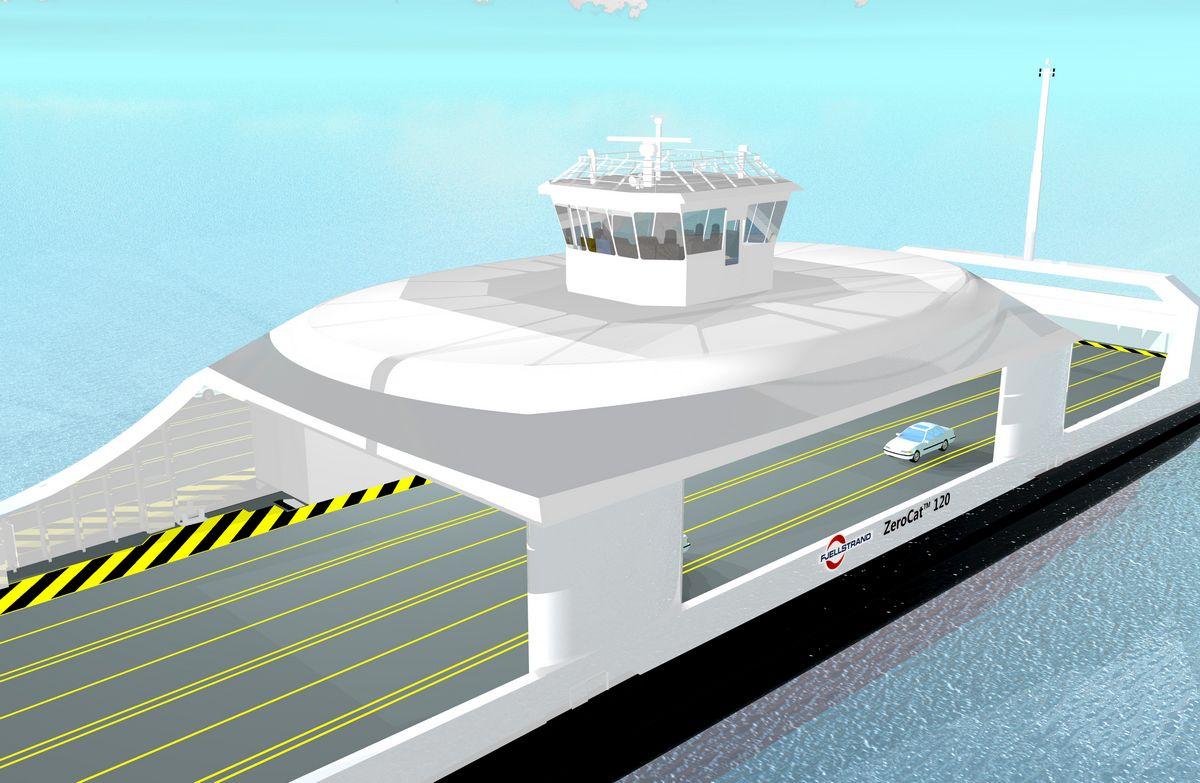 Norvège : un projet de ferry électrique autonome pour Kongsberg