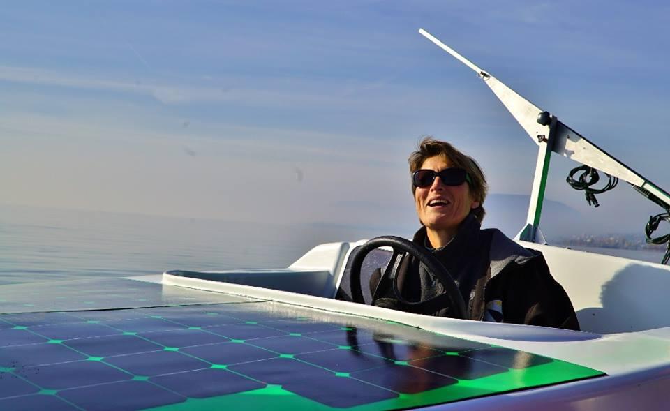 Le Solarboat d'Anne Quéméré traversera l'Arctique en juin 2018