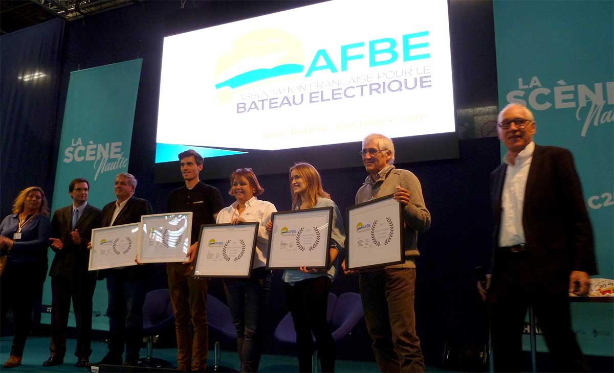 Nautic 2017 : six récompenses pour le concours du bateau électrique de l'année