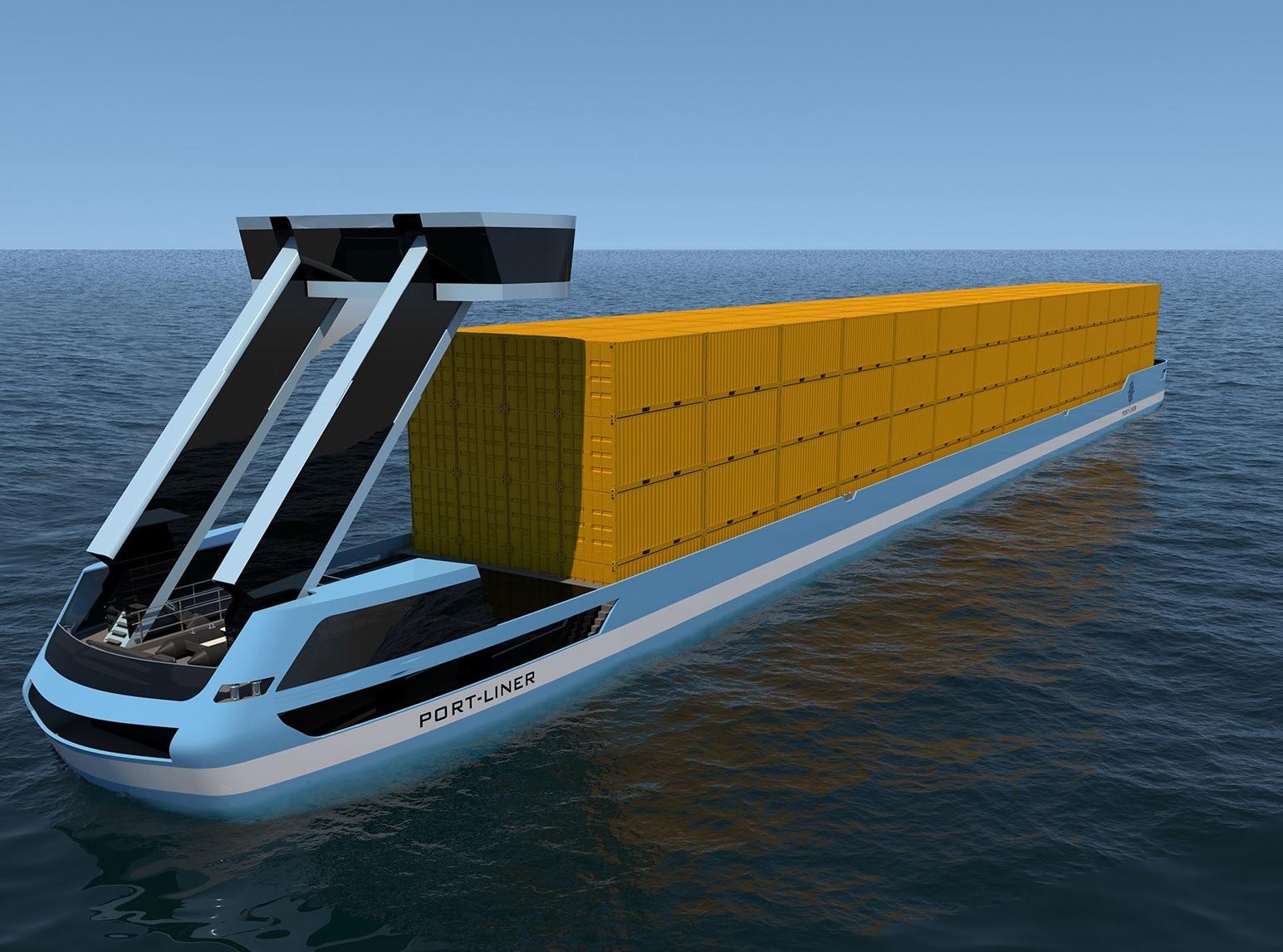 Des barges électriques entre Anvers et les Pays-Bas