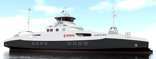 Vard annonce la construction d'un ferry électrique pour la Norvège