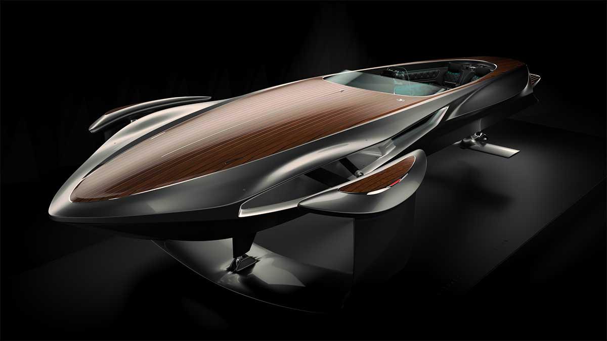 Hydrafoil : un concept-boat électrique inspiré du monde automobile