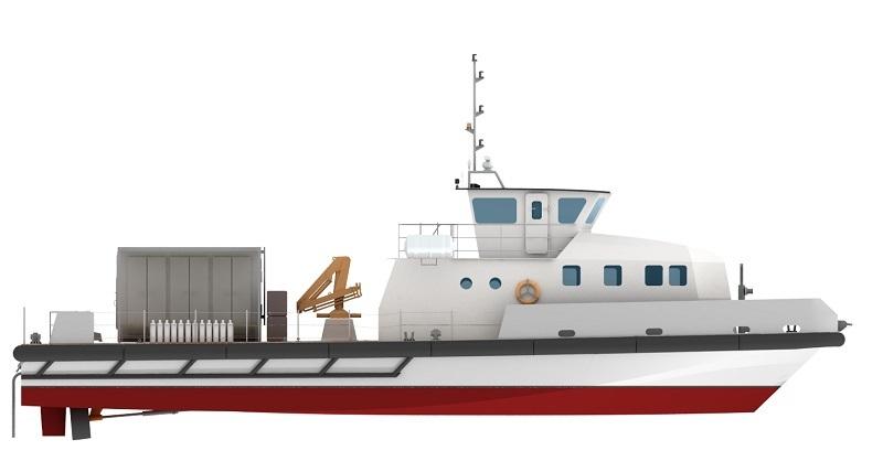 Alternatives Energies équipe les chalands hybrides de la Marine Nationale