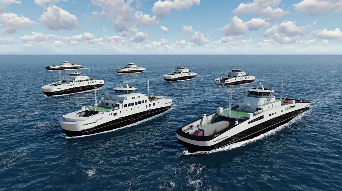Norvège : Havyard annonce la commande de sept nouveaux ferries électriques