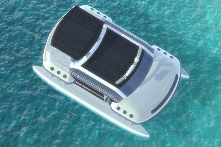 Quad 44 : un catamaran électrique au look original