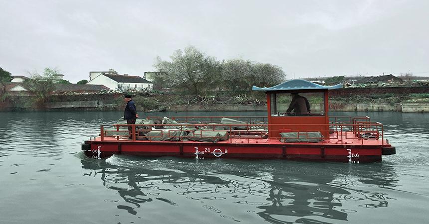 Chine : une flotte de bateaux électriques motorisés par Torqeedo pour la ville de Suzhou