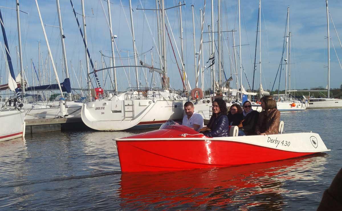 Ecol'Eau lance avec Saviboat la location de bateaux électriques à La-Roche-Bernard