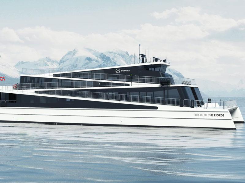 Norvège : The Fjords reçoit son premier ferry électrique