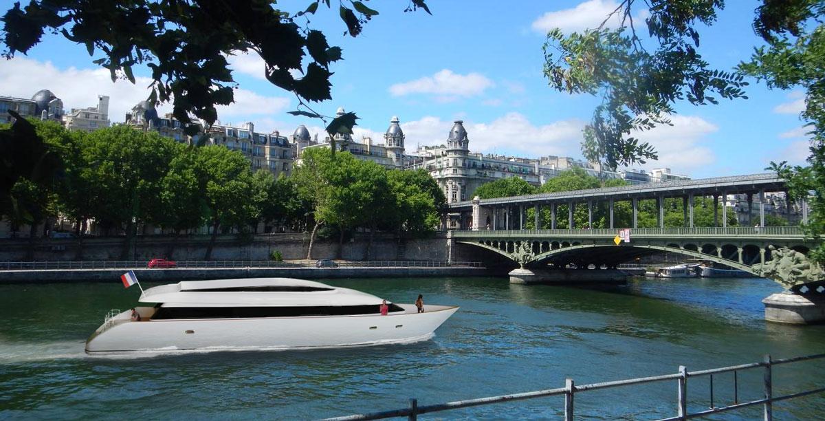 YESS : un nouveau navire 100 % électrique pour la Seine