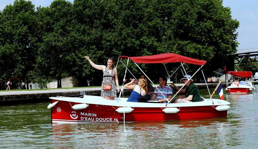 Des bateaux électriques sans permis pour Strasbourg