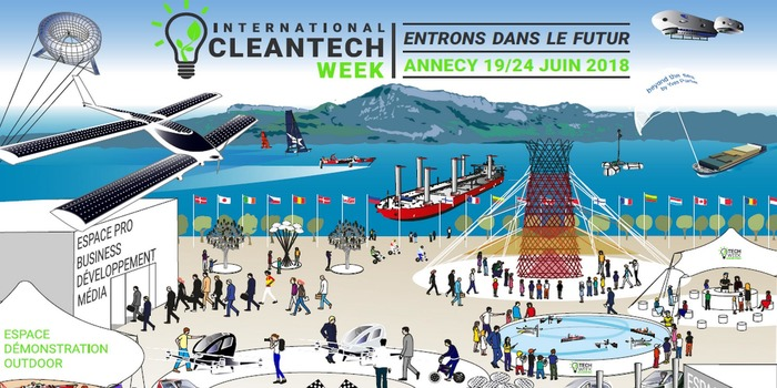 L'International CleanTech Week se déroulera du 19 au 24 juin à Annecy