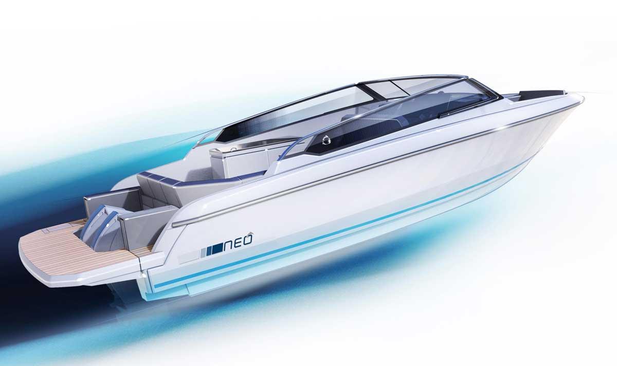 Neo eDrive : un nouveau bateau électrique pour Greenline