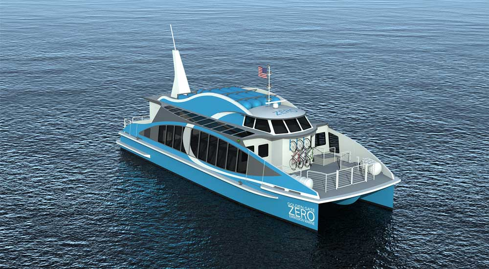 Un bateau à hydrogène pour la baie de San Francisco