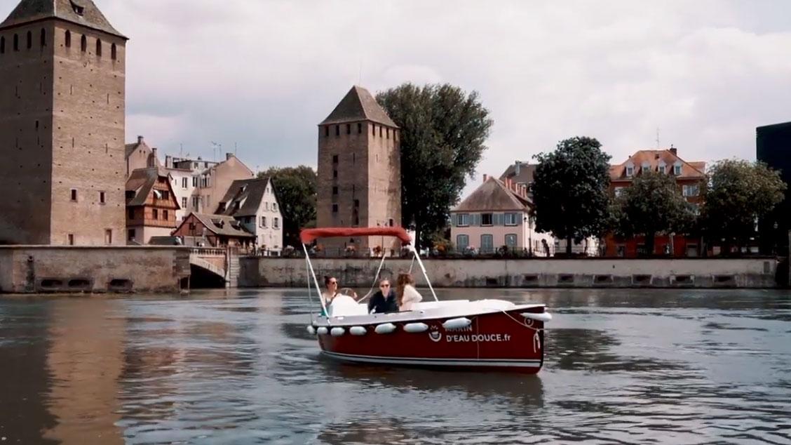 Location : les bateaux électriques débarquent à Strasbourg