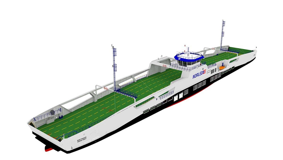 LMG Marin va réaliser le design de deux ferries hybrides