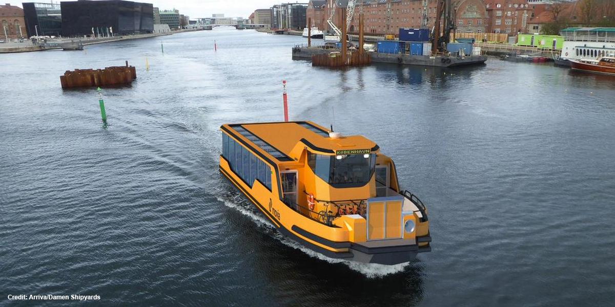 Copenhague va électrifier ses bateaux-bus